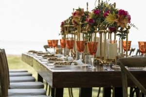 sophisticated table design, tablescape