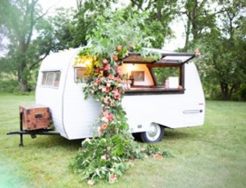 Scotty Our Mobile Mixer: A Vintage Camper And Bar-on-Wheels That's Cruising In For Your Next Event